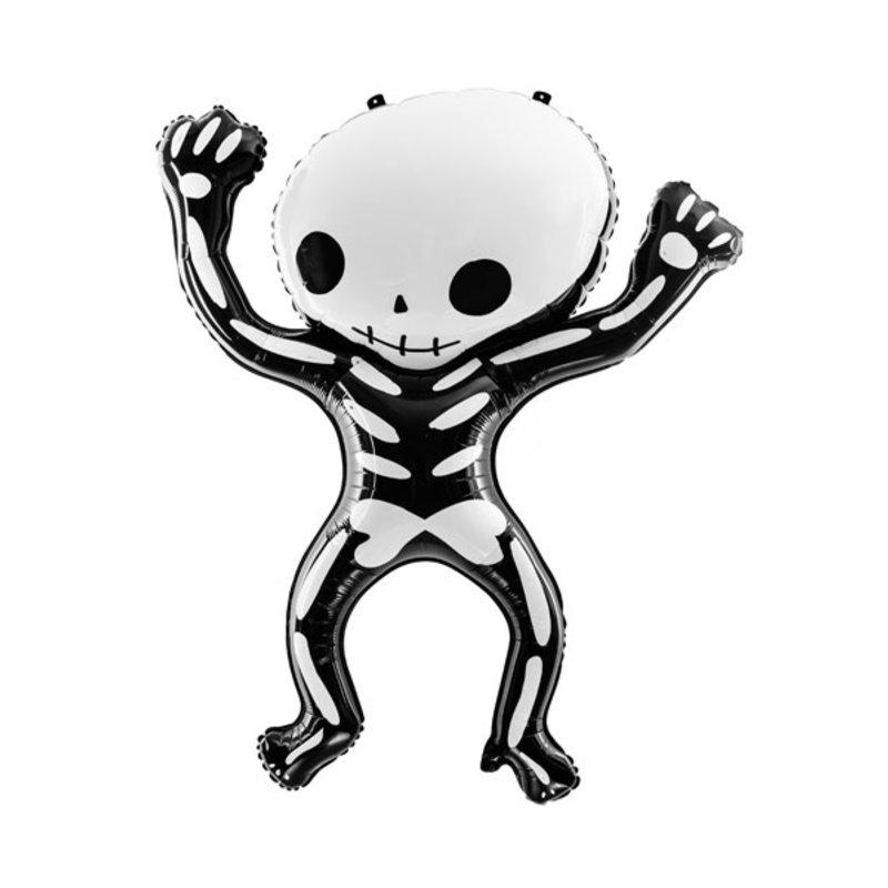 Halloween - Folieballon - Skelet