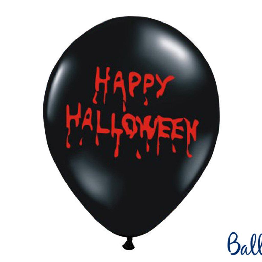 Happy Halloween - Ballonnen (5st)