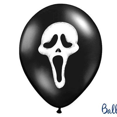 Halloween 'Scream' - Ballonnen (5st)