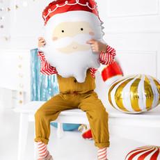 Santa - folieballon (37x60cm)