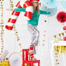 Partydeco Christmas candy cane - Folieballon