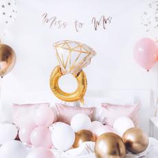 Ring - folieballon (53x40cm)