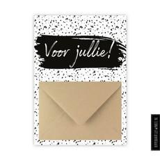 Wenskaart enveloppe - Voor jullie!