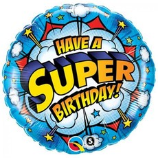 Anagram Have a super birthday! - Folieballon (45cm)