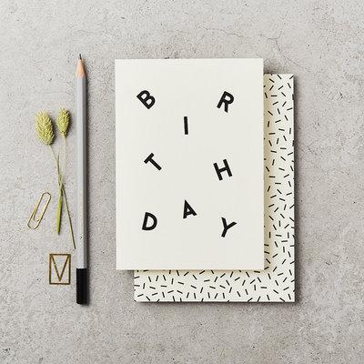 Katie Leamon Wenskaart - Birthday Scatter