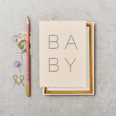 Katie Leamon Wenskaart - Luxe Baby Pink