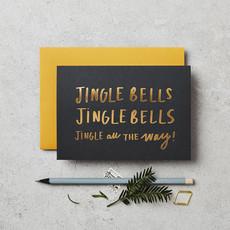 Katie Leamon Wenskaart - Jingle Bells