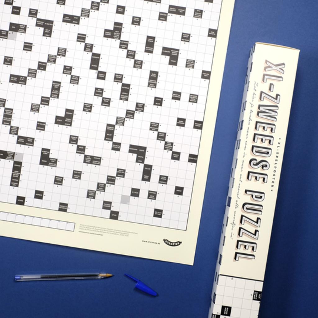 Stratier Stratier XL-Spelposter | Zweedse puzzel