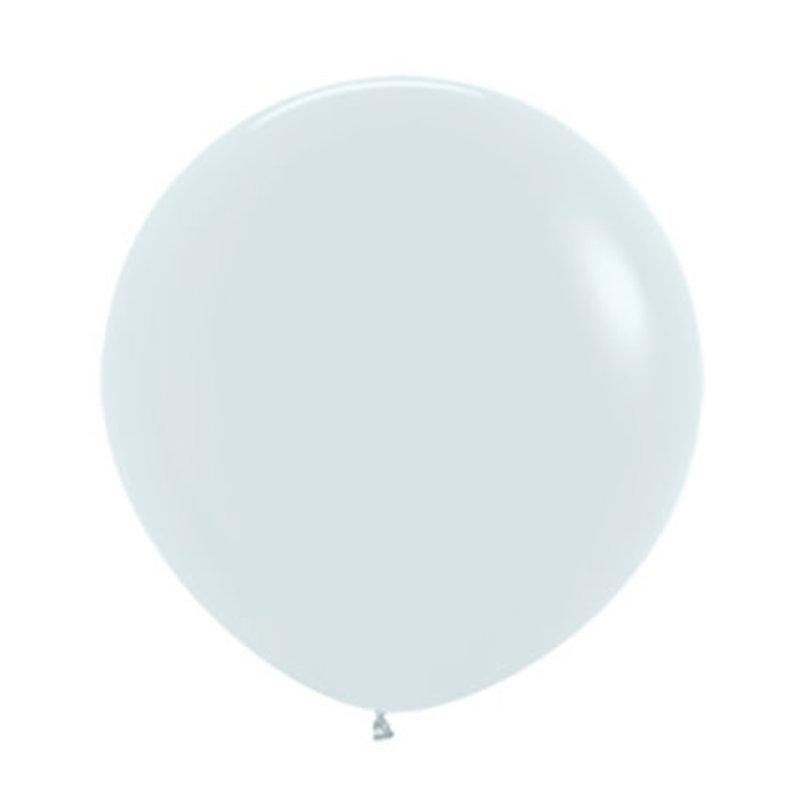 Megaballon - Wit (60cm)