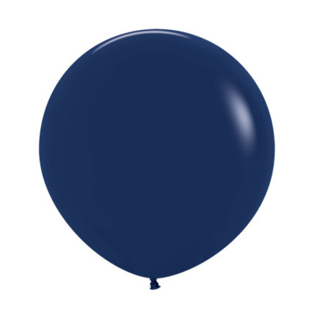 Megaballon - Marineblauw (60cm)