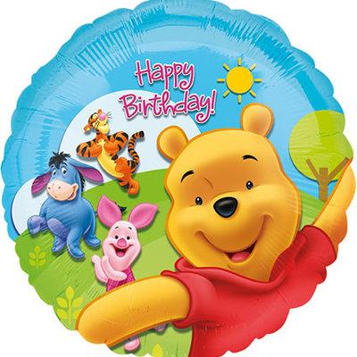 Pooh and Friends Happy Birthday - Folieballon (45cm)