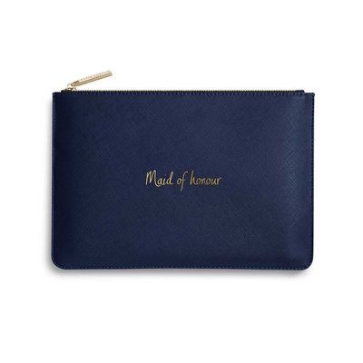 Katie Loxton Perfect Pouch - Maid of Honour (navy blue)