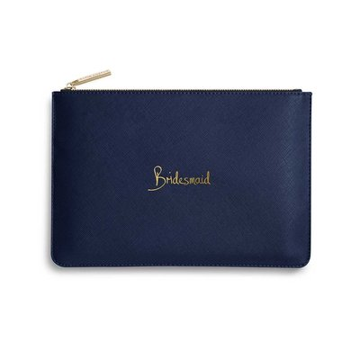 Katie Loxton Perfect Pouch - Bridesmaid (navy blue)