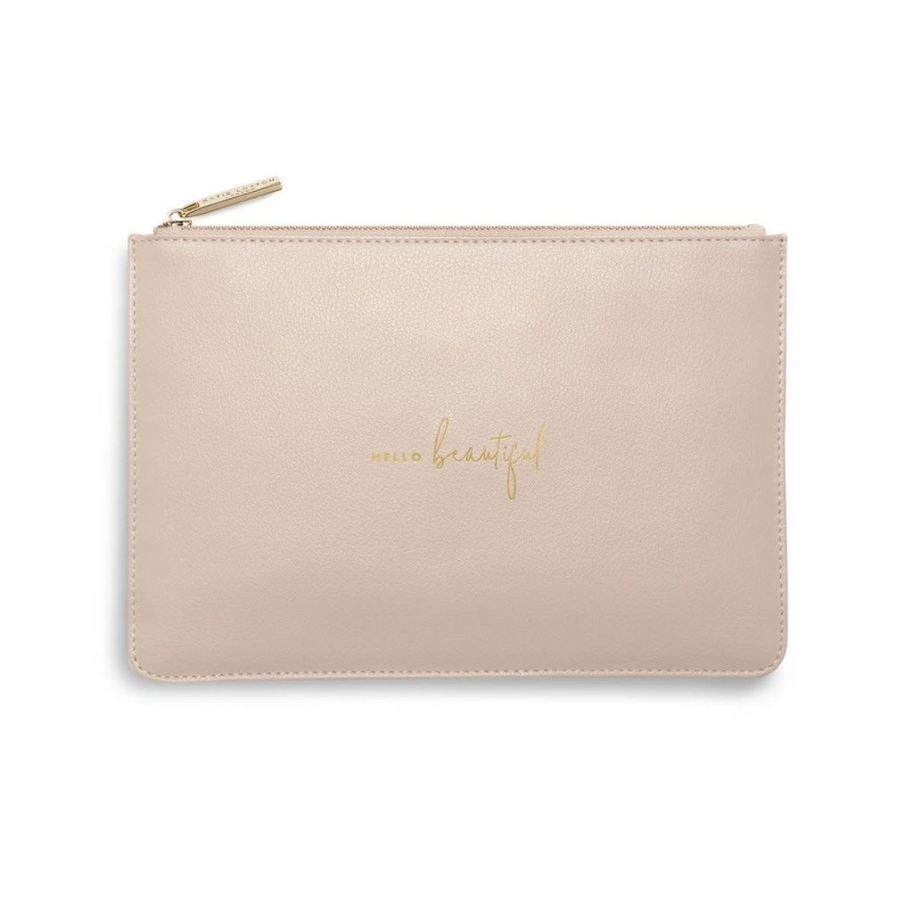 Katie Loxton Perfect Pouch - Hello Beautiful