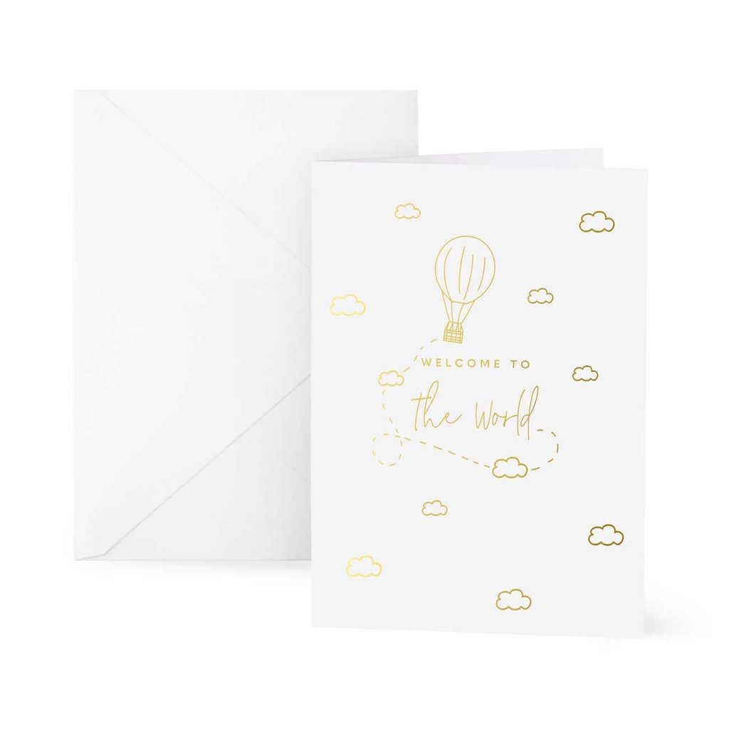 Katie Loxton Wenskaart | Welcome to the World - A6