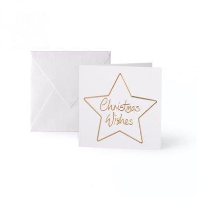 Katie Loxton Mini - Kaart - Christmas Wishes