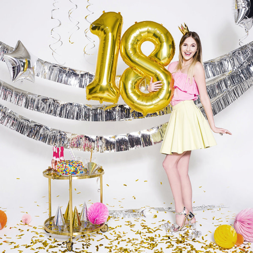 Balloon Bar - XL Cijferballon (incl helium)