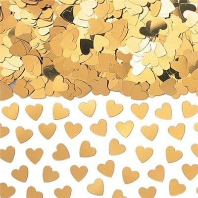 Confetti gouden hartjes (14gr)