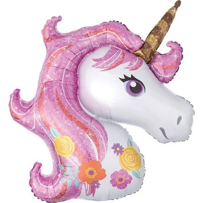 Magical Unicorn - XL Folieballon (84cm)