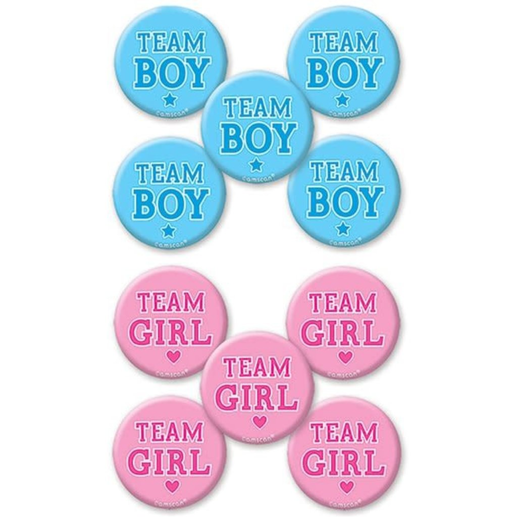 Gender reveal - Buttons