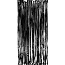 Deurgordijn (zwart)
