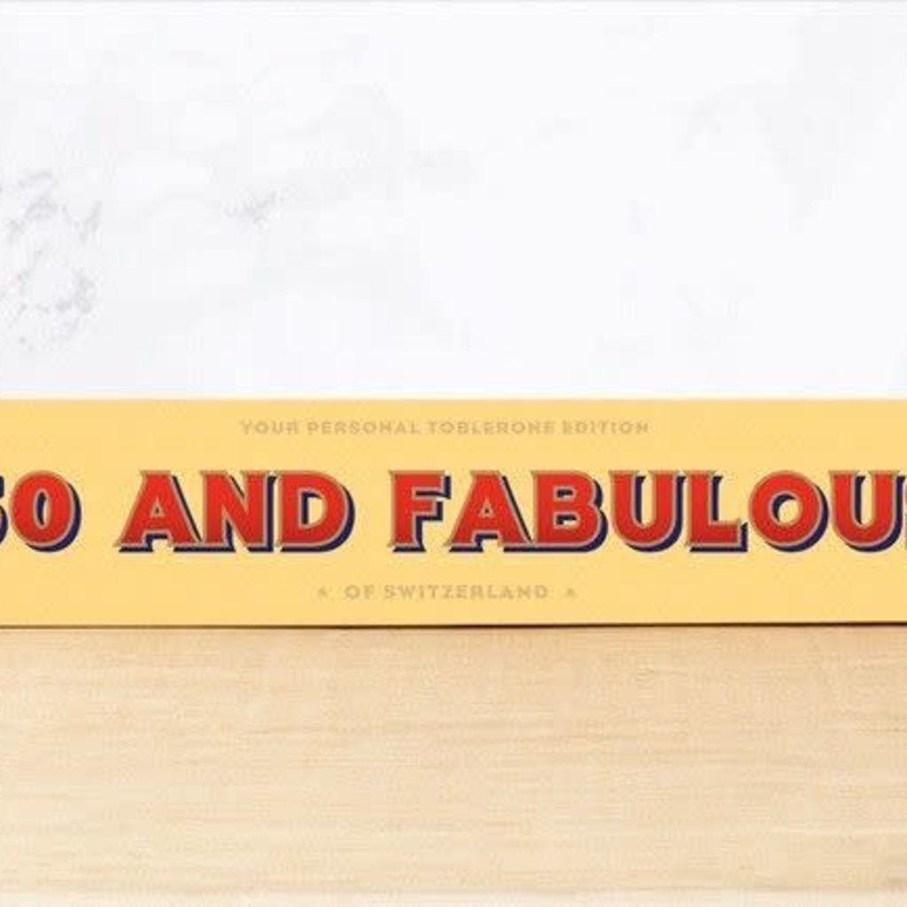 Toblerone Toblerone Chocolade - 50 and fabulous