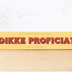 Toblerone Toblerone Chocolade - Dikke proficiat