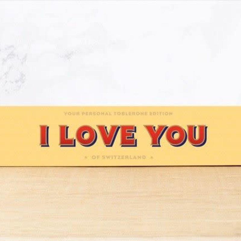 Toblerone Toblerone Chocolade - I love you