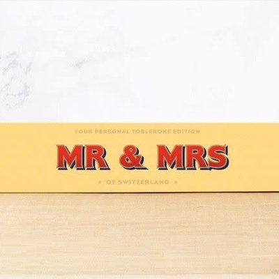 Toblerone Toblerone Chocolade - Mr & Mrs