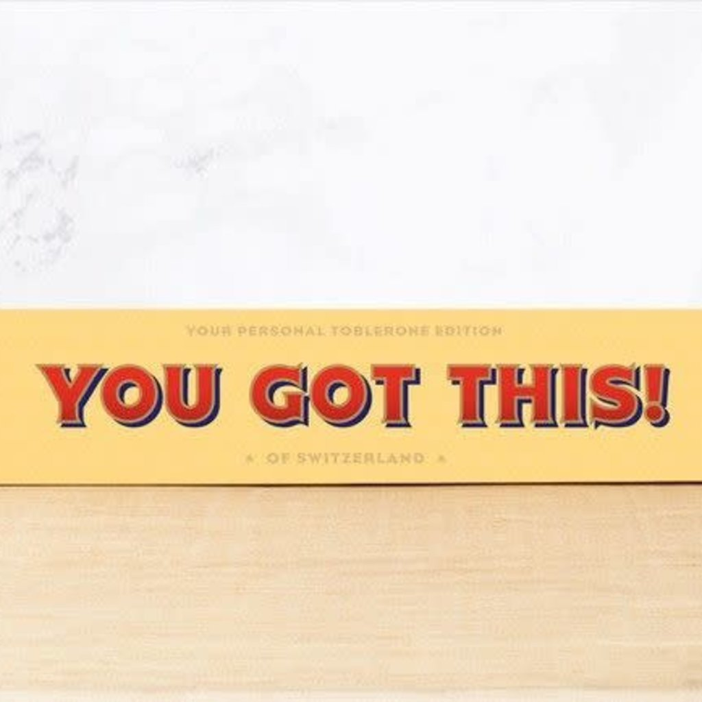 Toblerone Toblerone Chocolade - You got this!