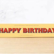 Toblerone Toblerone Chocolade - Happy Birthday!