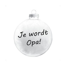 The Wedding & Party Shop Kerstbal - Oma / Opa