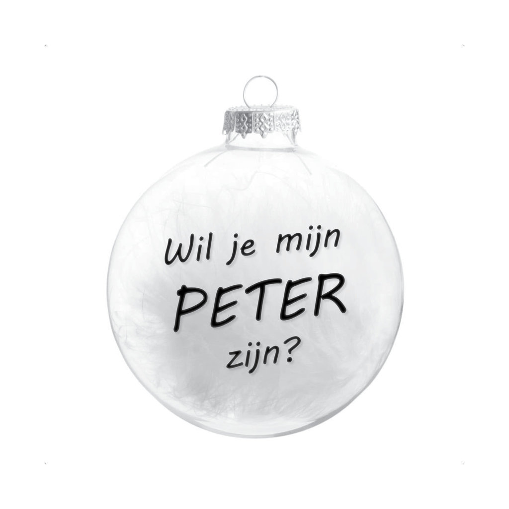 the wedding agency Kerstbal - Meter / Peter