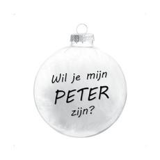 The Wedding & Party Shop Kerstbal - Meter / Peter