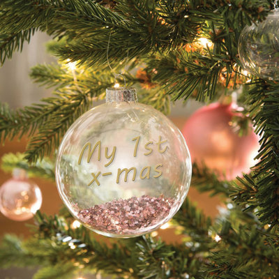 The Wedding & Party Shop Kerstbal - My first x-mas 2020