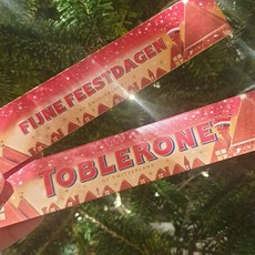 Toblerone Toblerone Chocolade - Fijne feestdagen