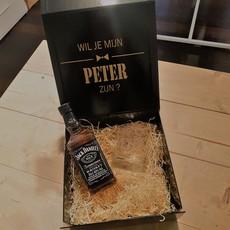 the wedding agency Box - Wil je mijn peter zijn?