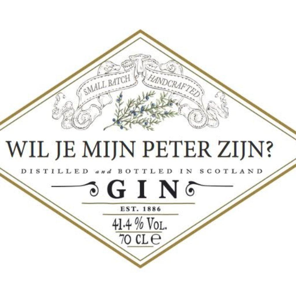 The Wedding & Party Shop Hendrick's Gin - Gepersonaliseerd label