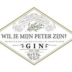 the wedding agency Hendrick's Gin - Gepersonaliseerd label