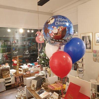 Balloon Bar Balloon Bar - Kerst ballonnenbundel