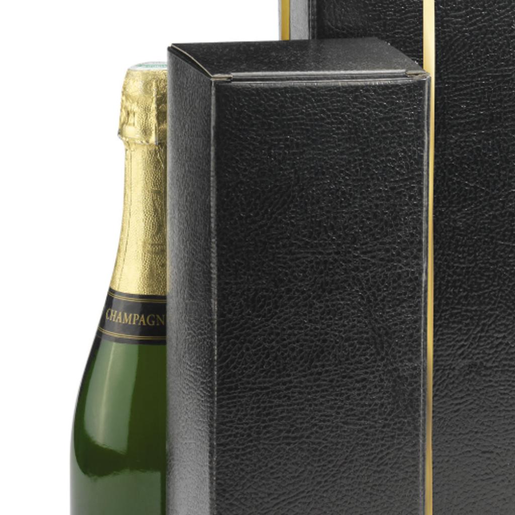 Champagnedoos (zwart)
