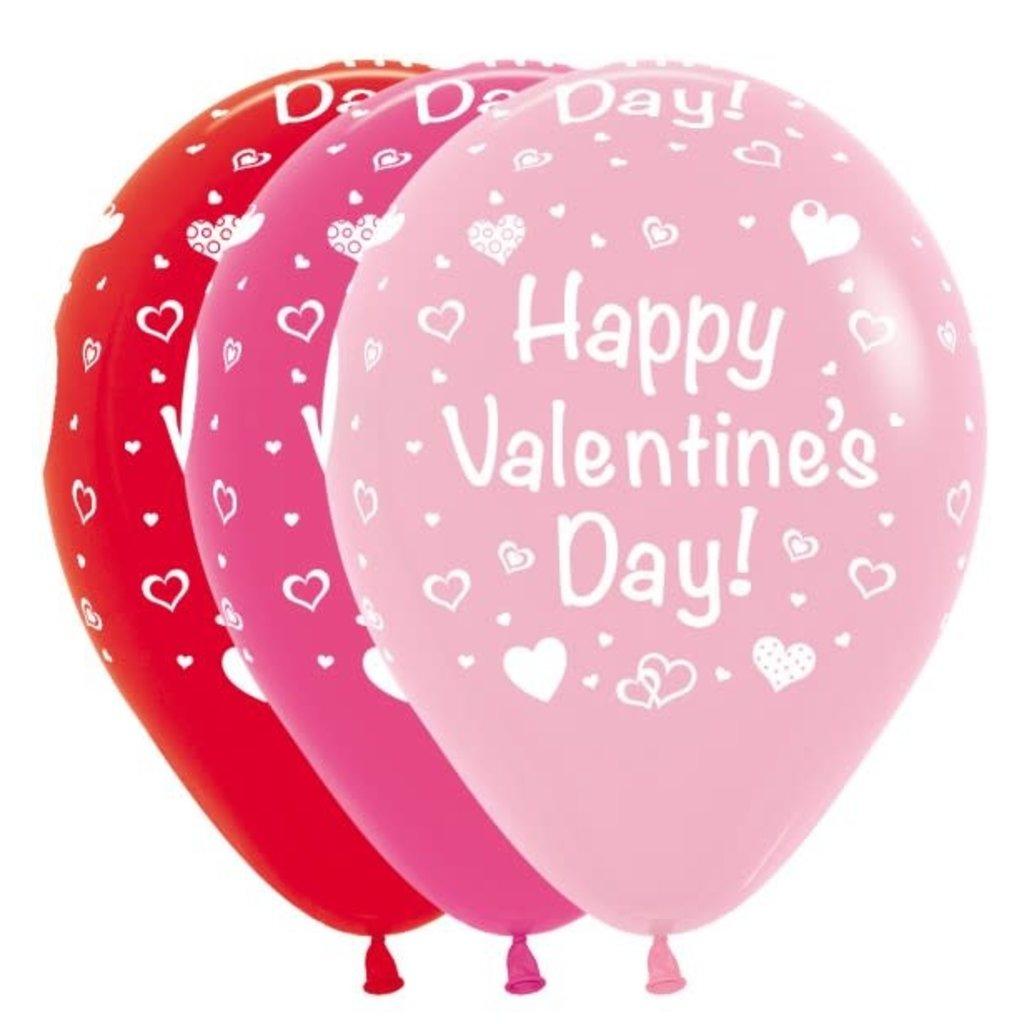 Sempertex Happy Valentines Day - ballonnen (3st.)