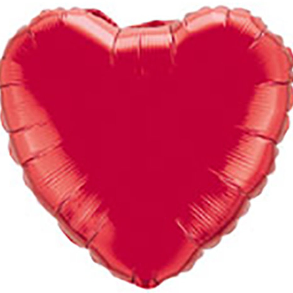 Sempertex XL-Folieballon - Red heart (32inch/80cm)