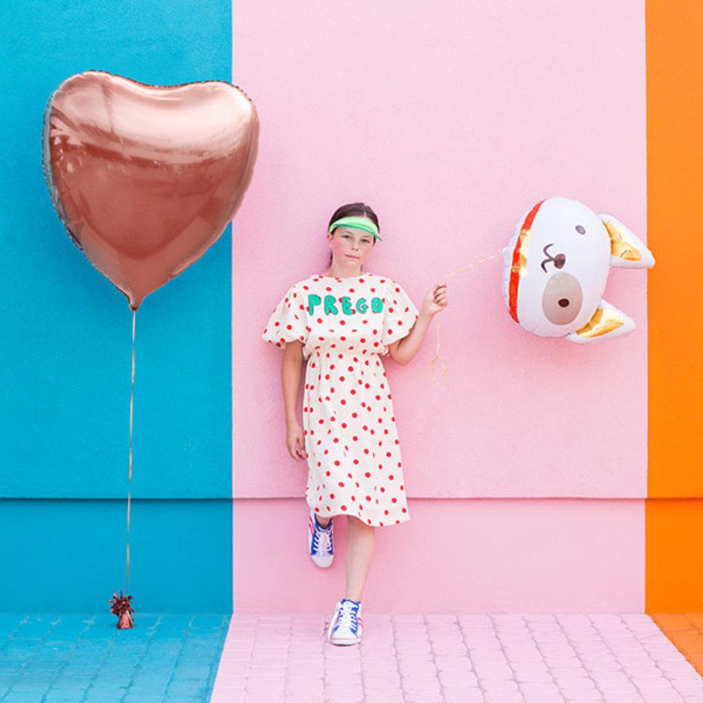 Partydeco Hond - Folieballon (50cm)