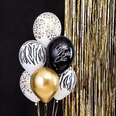 Partydeco Zebraprint - Ballonnen 30cm (10st.)