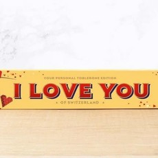 Toblerone Toblerone Chocolade - I LOVE YOU