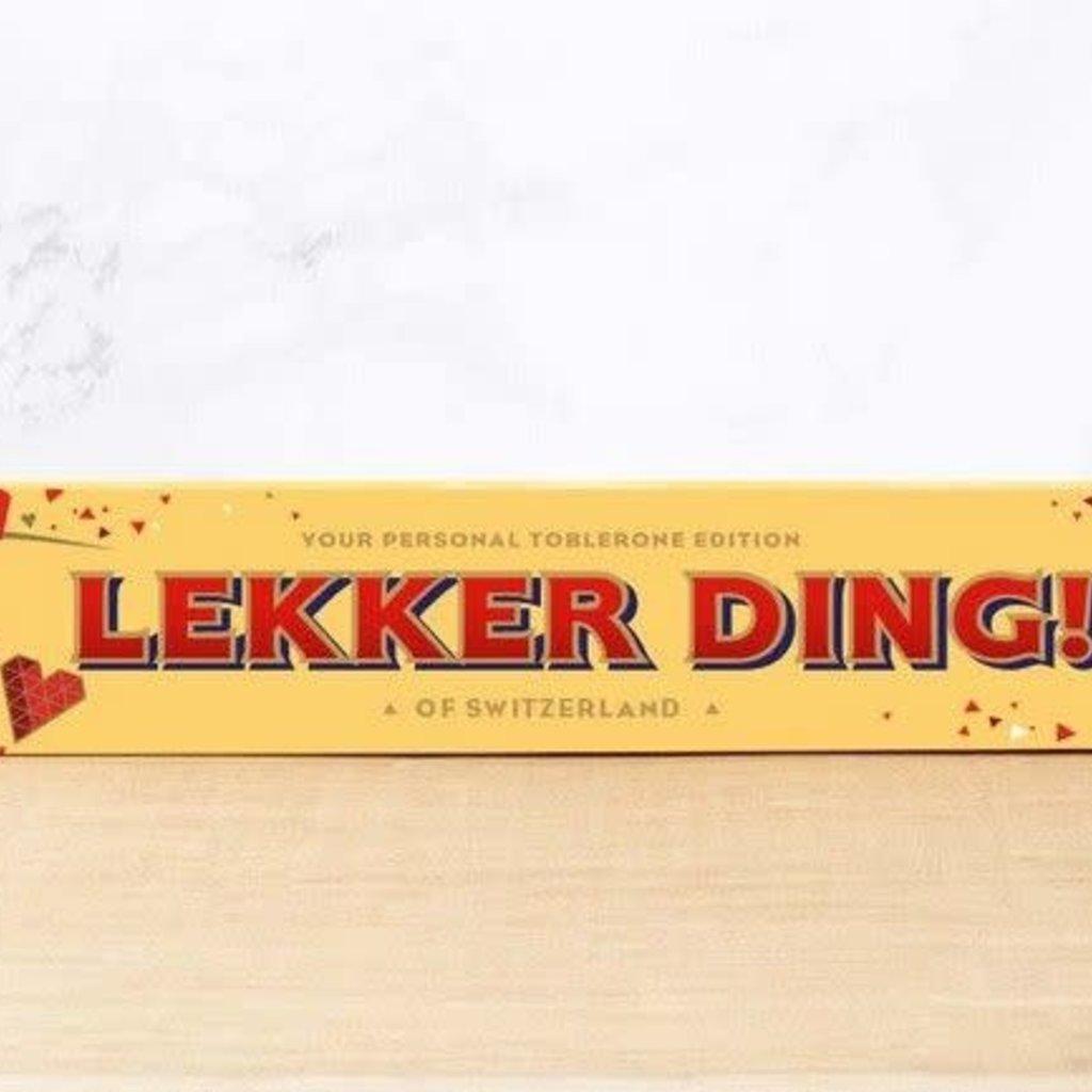 Toblerone Toblerone Chocolade - Lekker ding