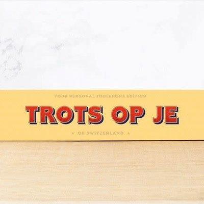 Toblerone Toblerone Chocolade - Trots op je