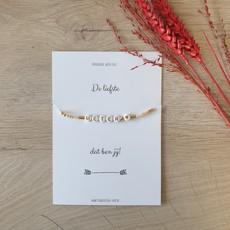 The Wedding & Party Shop Armband - De liefste meter dat ben jij!