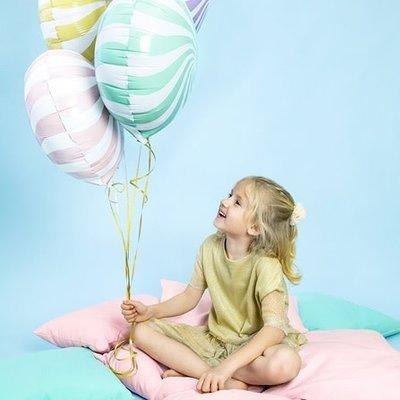 Sempertex Round candy folieballon (45cm)